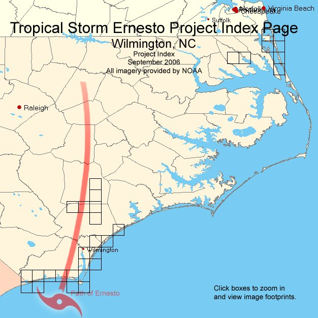 Ernesto Image Index Map Calabash Nc 33078h5